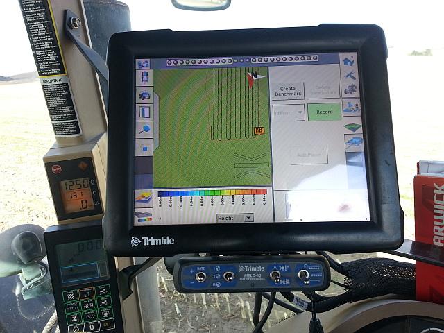 Surveying the farm with Trimble's RTK-GPS and WM Survey